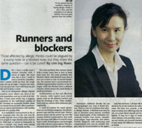 Runners and Blockers. Business Times 2011