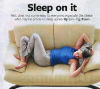 Sleep Apnea. Business Times 2011